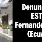 Luis Fernando Méndez Sandoval (Ecuador): Denuncia por estafa